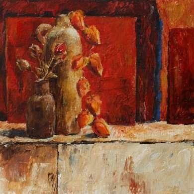 'Stilleven' - acryl - 2009