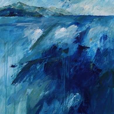 'Samos' - acryl - 2011