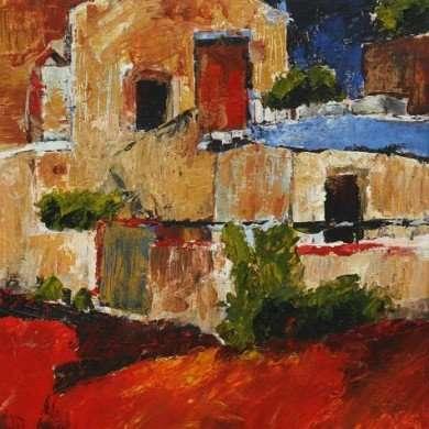 'Kreta' - acryl - 2011