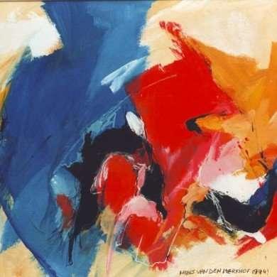 'Abstract' - gemengde techniek - 1994