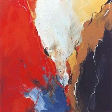 'Abstract' - gemengde techniek - 1996