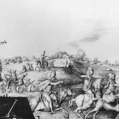 Inname van Schans Orthen door de Franse troepen op 20 september 1794