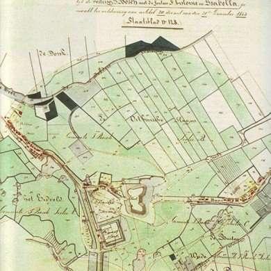 Plan uit 1853