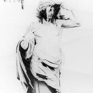 'L'áeronaute' - potloodtekening - 1982